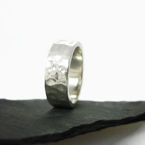 Polished Sterling Silver Ring 6mm - rings