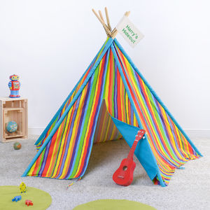 Personalised Tipi Play Den