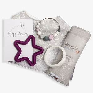 Luxury Christmas Star Teething Hamper