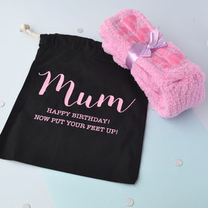 Super Soft Slipper Socks Gift Set - shoes