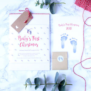 Baby's First Christmas Inkless Print Kit