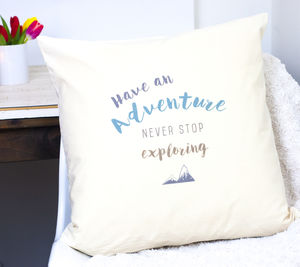 Adventure Explorer Cushion