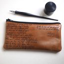 Sonnet 116 Leather Anniversary Pencil Case