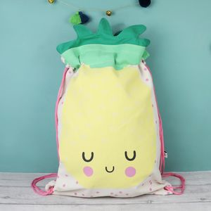 Hi Kawaii Drawstring Backpack