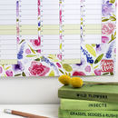 2019 Floral Wall Calendar And Year Planner