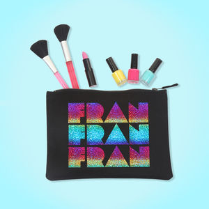 Personalised Rainbow Make Up Bag - what's new