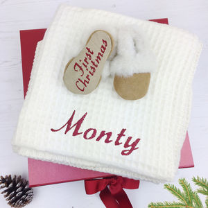 Personalised Babies First Christmas Eve Box - baby's first christmas