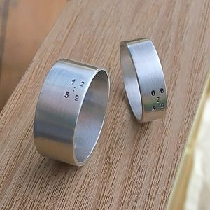 Personalised Time Ring - rings