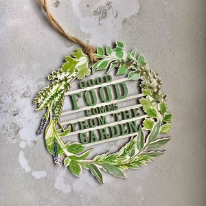 Food Kitchen Sign - home accessories