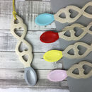Handmade Welsh Love Spoon With Painted Tip