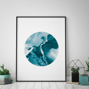 Minimalist Wave Art Print
