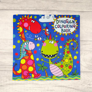 Childrens Dinosaur Colouring Book
