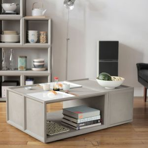 Concrete Plus Four Storage Unit - coffee tables