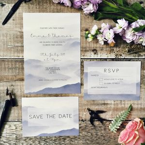 The Lakes Wedding Stationery