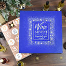 Personalised Luxury Wine Advent Calendar Box