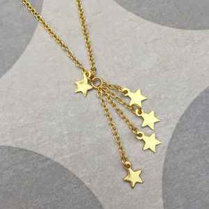 Gold Star Charm Friendship Necklace