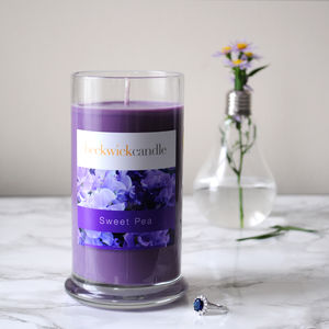Sweet Pea Scented Hidden Ring Candle - candles & home fragrance