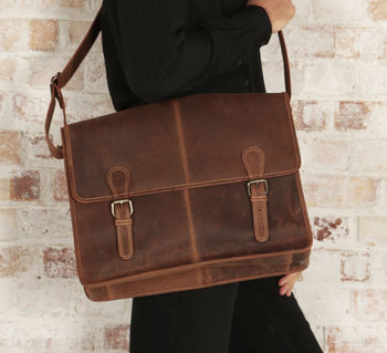 Urban Leather Satchel Bag