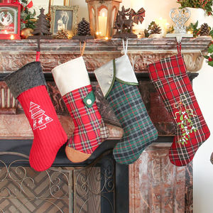 Country Christmas Luxury Stockings