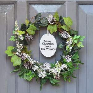 Personalised Ivy Christmas Wreath - view all new