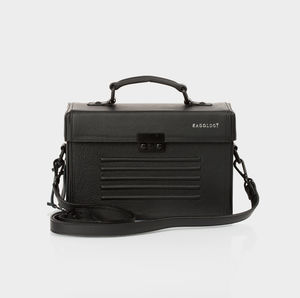 Old Street Leather Box Bag - womens