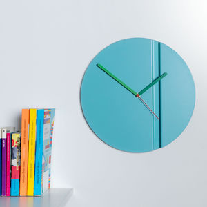 Contemporary Origami Inspired Wall Clock - clocks