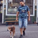 Personalised Pet Embroidered Camo T Shirt