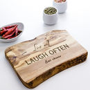 Personalised Wooden Chopping/Cheese Board
