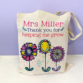 Personalised Teacher Bag - accessories