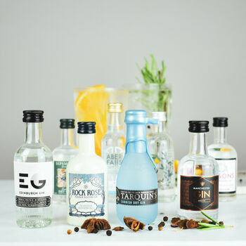 Traditional British Gin Tasting Set