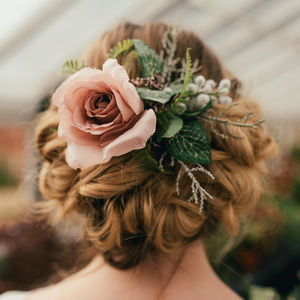 Jessica Flower Hair Clip - wedding fashion