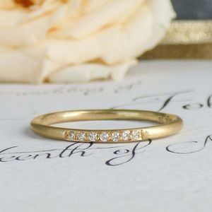 Eliza 18ct Fairtrade And Diamond Ethical Wedding Ring