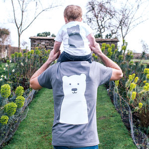 Little Bear Daddy And Me Tshirt Set - first father's day