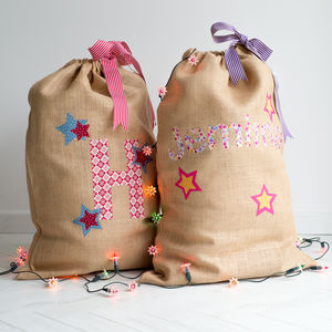 Personalised Christmas Sack Kit - decoration making kits