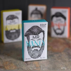 Mr Beard Soap Bar - gifts for him
