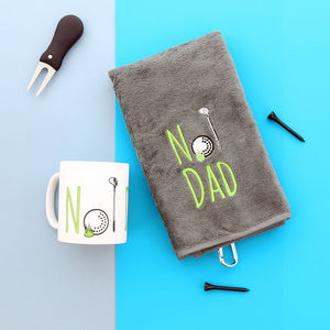 Number One Dad Father's Day Golf Gift Set