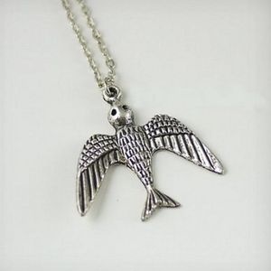Flying Bird Necklace - necklaces & pendants