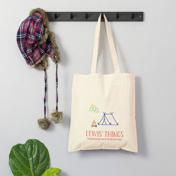 Personalised Adventure Tote Bag