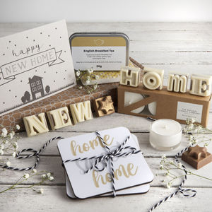 'New Home' Letterbox Gift Set - sweet hampers
