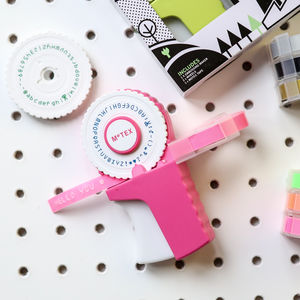 Retro Embossing Label Maker - wedding favours