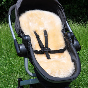 Baa Baby Pram And Stroller Long Hair Lambskin Liner