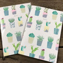 Succulents Lined Notebook
