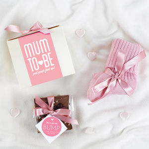 Mum To Be Sock And Choc Gift Set
