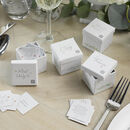 Wedding Table Trivia Set