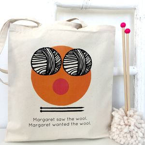 Want The Wool! Knitting Bag - knitting kits