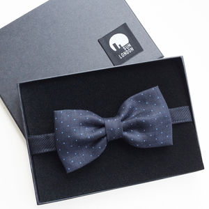 Sloane Linen Bow Tie - men's accessories