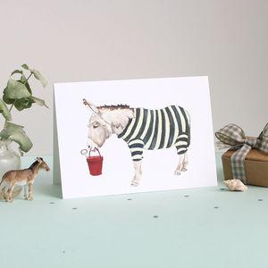 Life's A Beach Card - blank cards