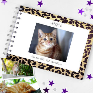 Cat Memory Book - gifts for pet lovers