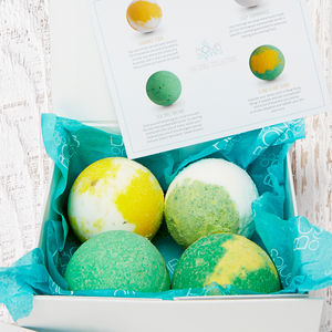 Chill Collection Organic Bath Bomb Gift Set