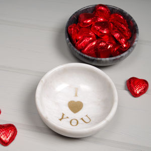 Heart Marble Bowl